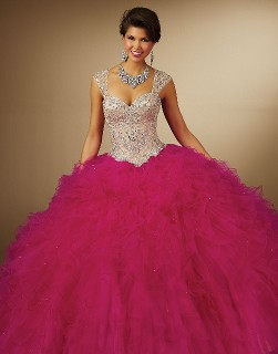 New Quinceanera Dress with Straps