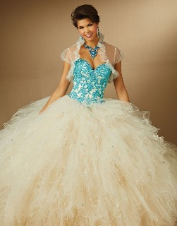 New Sweetheart Quinceanera Dress with Straps